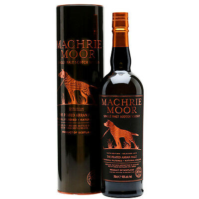 The Arran Machrie Moor Peated / Sixth Edition Released 2015 Scotch Whisky 700mL