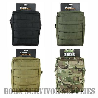 MOLLE LARGE GENERAL PURPOSE UTILITY POUCH GP Airsoft Tactical Kit Army Webbing