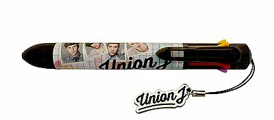 Union J - 8 Colour Pen with Union J Charm Dangler