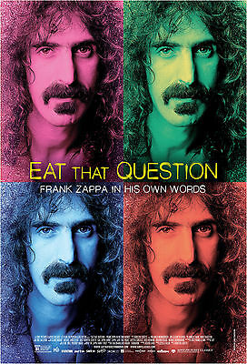 Eat That Question Frank Zappa In His Own Words Manifesto Musicale Music