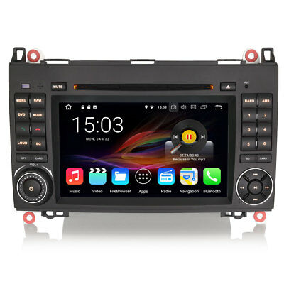 mercedes sprinter w639 android 5 1 head unit radio stereo. Black Bedroom Furniture Sets. Home Design Ideas