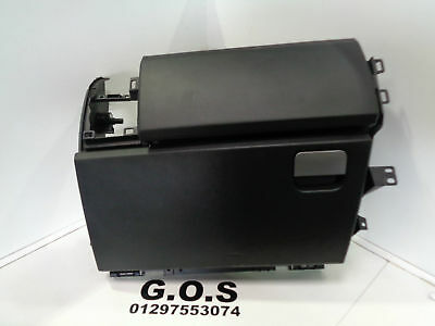 04 - 09 Land Rover Discovery 3 Complete Upper And Lower Glove Box Black