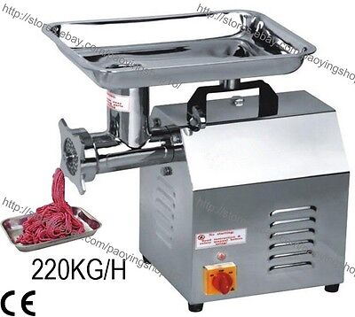 Commercial Electric Auto Butcher Home Fish Meat Mincing Machine Mincer Grinder