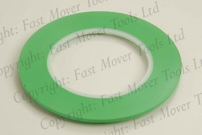 Fine Line Masking Tape Hi Temp Acrylic Easy Peel Car Paint 55 Metre