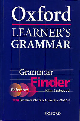 OXFORD LEARNER'S GRAMMAR Grammar Finder with CD-ROM / John Eastwood @NEW@