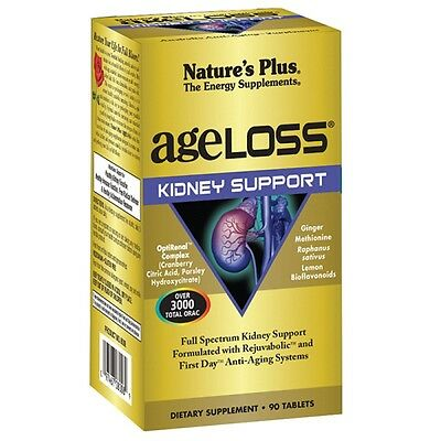 Nature's Plus Ageloss Kidney Support Tabs 90