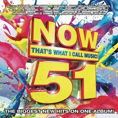 Various Artists : Now 51: Thats What I Call Music CD