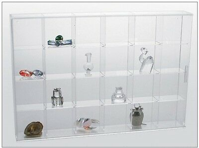 Miniature Figurine Display Case - Large