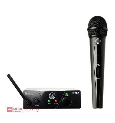 Akg Wms 40 Mini Vocal Set Randiomicrofono per Voce Palmare Wireless Microphone