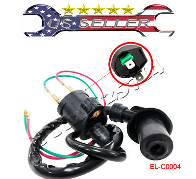 OML IGNITION COIL GY6 125cc 150cc Red 10mm Scooter Moped ATV Go Kart on