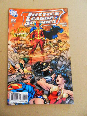 Justice League Of America  22 . DC  2008 -    VF +