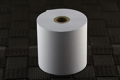 Bond Paper Roll 57x57x12mm Carton of 24Rolls EFTPOS,Cash registers,Receipt Paper