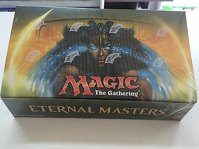 MAGIC THE GATHERING - Eternal Masters Sealed Booster Box ! 24 Boosters - Draft