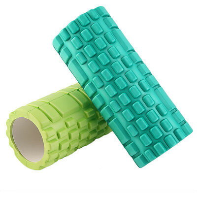 Pilates Fitness EVA Foam Roller Massage Convex Point Therapy Yoga Stick JK~