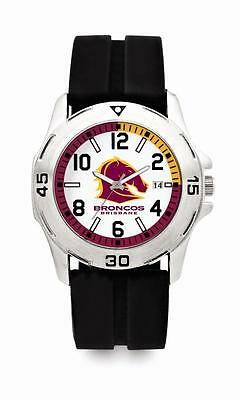 Brisbane Broncos NRL Supporter Watch Fathers Day Christmas Birthday Gift