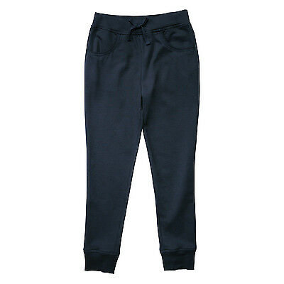 french toast youth girls navy jogging pant 7-16 / jogger