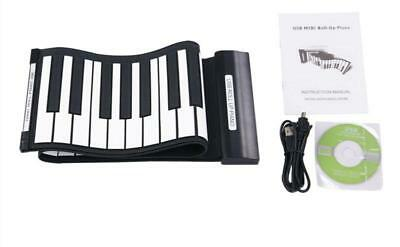 New 49 keys Portable Flexible Silicon Roll-up Keyboard  Electronic Piano