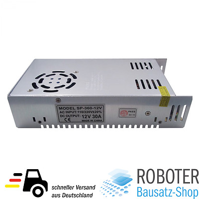 OEM PSU Power Supply Netzteil 12V / 30A 360W LED 3D-Drucker RepRap