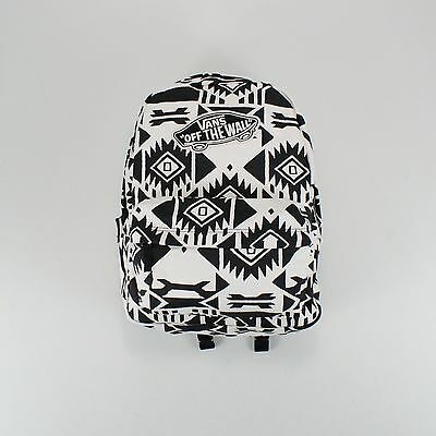 Vans Realm White Sand/Black Backpack/Rucksack/Shoulder Bag