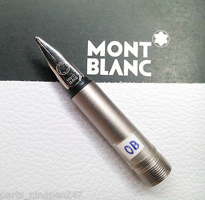 Montblanc Noblesse 1122 Fountain Pen Color Silver Nib Size OB Part Pen NOS