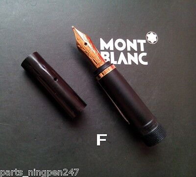 Montblanc Noblesse Fountain Pen No.1047 18ct Size F Nib Part Pen NOS