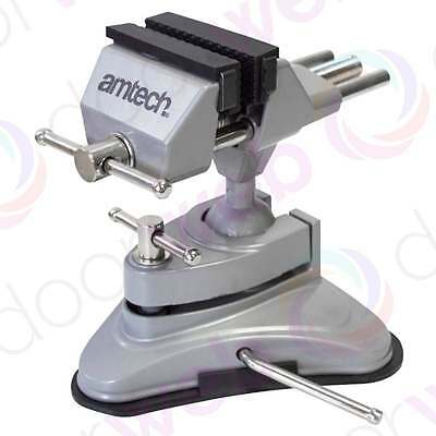 TABLE VICE SUCTION Portable CLAMP Bench Vise Hobby Craft Electronics  70mm Jaw