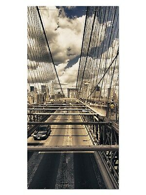 HD GlasBild, Wandbilder XL 50 x 100 cm, EG4100502189 BROOKLYN B. NEW YORK FARBIG