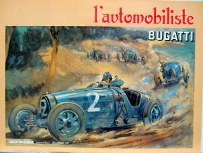 L'automobiliste Collection Delage Citroen Bugatti Simca