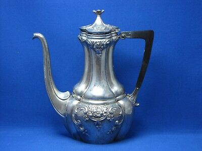 Sterling Silver Demitasse Coffee Pot By Simons Brothers Philadelphia