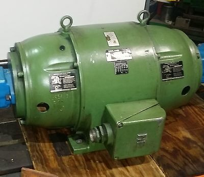 Motor 60 HP, 1800 RPM continous - DBL. End Hydra Pump Moto, OEM $10,803 new