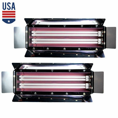 2pack 1100W Photo Studio Bank Continuous Light Digital Video Fluorescent Lightin
