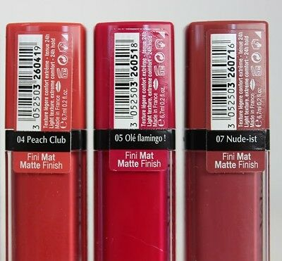 Bourjois Rouge Edition Aqua Laque Lipstick 7.7ml BUY 1 GET 1 FREE