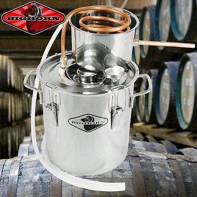 NEW 3 Gal Water Alcohol Wine Distiller Moonshine Still Boiler Stainless Copper T