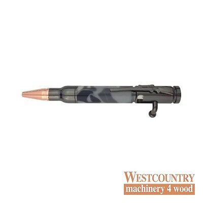 Charnwood Mini Bolt Action Pen - Gun Metal - PENMBGM