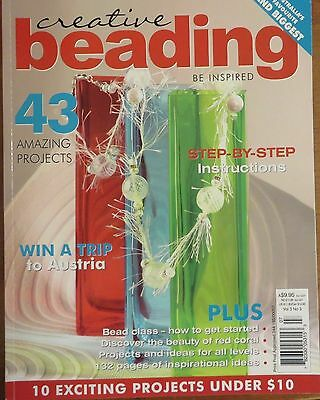 Creative Beading vol.3 No.3  be inspired step-by-step instructions magazine