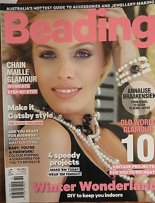 Beading Glossy Vol.7 no.2/ 10 Vintage projects Winter wonderland