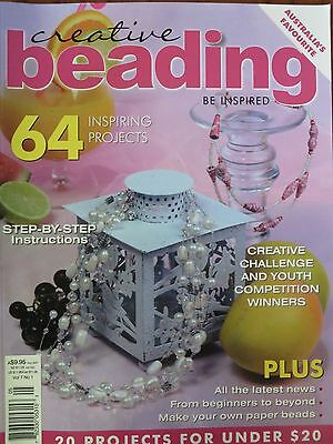 Creative Beading Magazine vol.7 no.1/ 64 inspiring projects