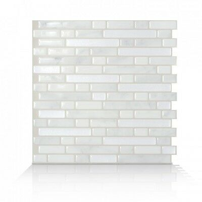 Smart Tiles SM1044-6 SELF-ADHESIVE WALL TILES 6/SHEET BELLAGIO MARMO PEEL STICK