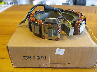 New! Omc #584291. Stator Assembly, 35 Amp.