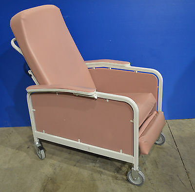 BKLN Winco Green Reclining Geri Chair Model Number 524 with tray attachment