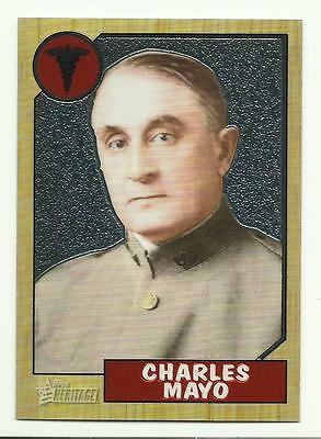 TOPPS HERITAGE 2009 Edition Chrome C67 Charles Mayo NEW