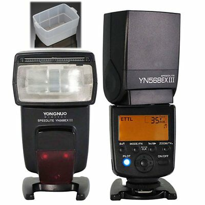 Yongnuo YN-568EX II Flash Speedlite TTL for Canon 5D II III 6D 7D 60D 700D UK
