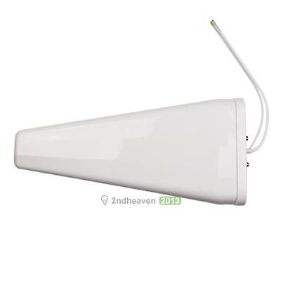 11dBi 698-960Mhz 1700-2700Mhz Logarithm Cycle 4G LTE Outdoor Directional Antenna