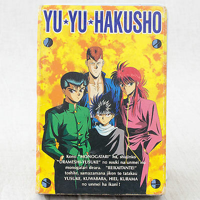 RARE! Yu Yu Hakusho Trump Playing Cards JAPAN ANIME MANGA YUSUKE KURAMA HIEI
