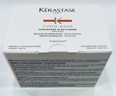 Concentre Oleo FusioN 10 X 12ML Kerastase