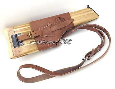Collectable Chinese Army Military Mauser Broomhandle Leather Holster And Stock
