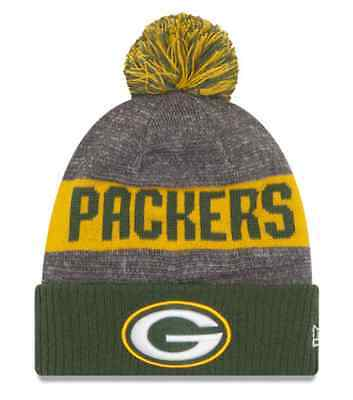 Green Bay Packers New Era 2016 NFL Sideline Bobble Hat