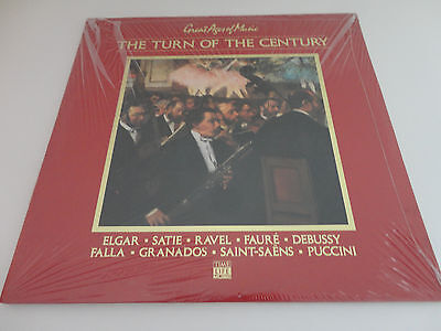 THE TURN OF THE CENTURY Great Ages of Music- LP (Time Life Music) New/Sealed