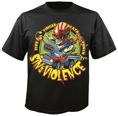 FIVE FINGER DEATH PUNCH - Sin & Violence - T-Shirt
