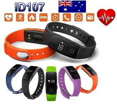 Very Fit Id107 Heart Rate Activity Tracker , Wristband Fitbit Style